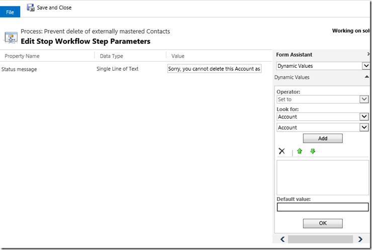 Dynamcis CRM 2013 Workflow validation Rules 9.png