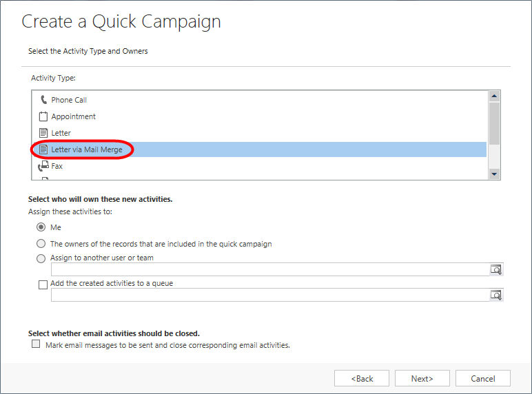 Dynamic CRM 2013 - Mail Merge - 05.png