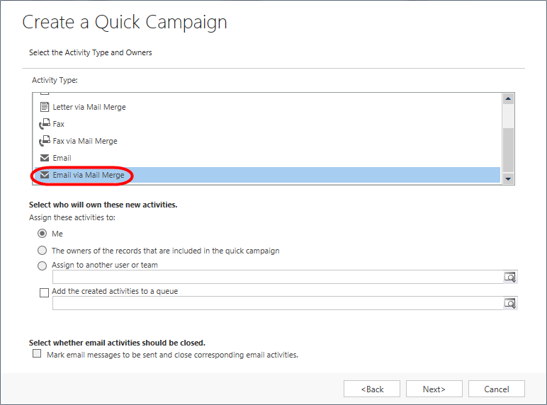 Dynamic CRM 2013 - Mail Merge - 06.png