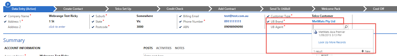 How to filter a lookup field in Business Process flow (BPF