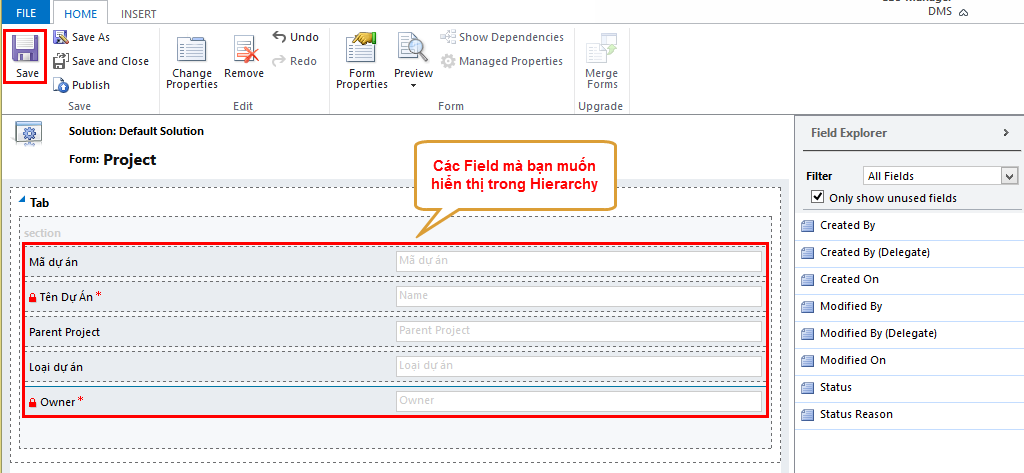 Ms Dynamics CRM 2015: How to Configure & Customize Hierarchy