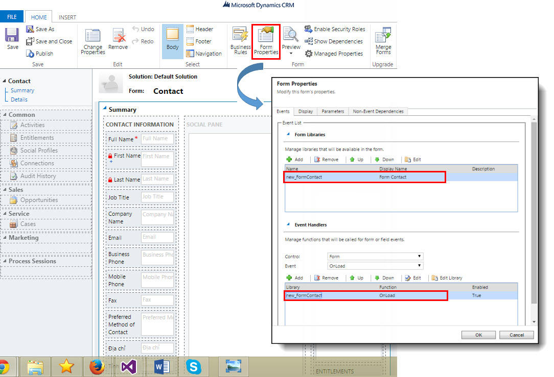 Microsoft Dynamic CRM - Change Color Lookup - 05.jpg