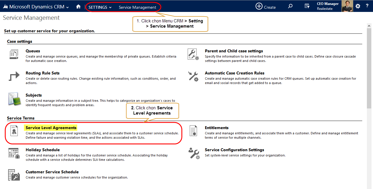 Microsoft Dynamic CRM - Service Level Agreements (SLAs) - 01.png